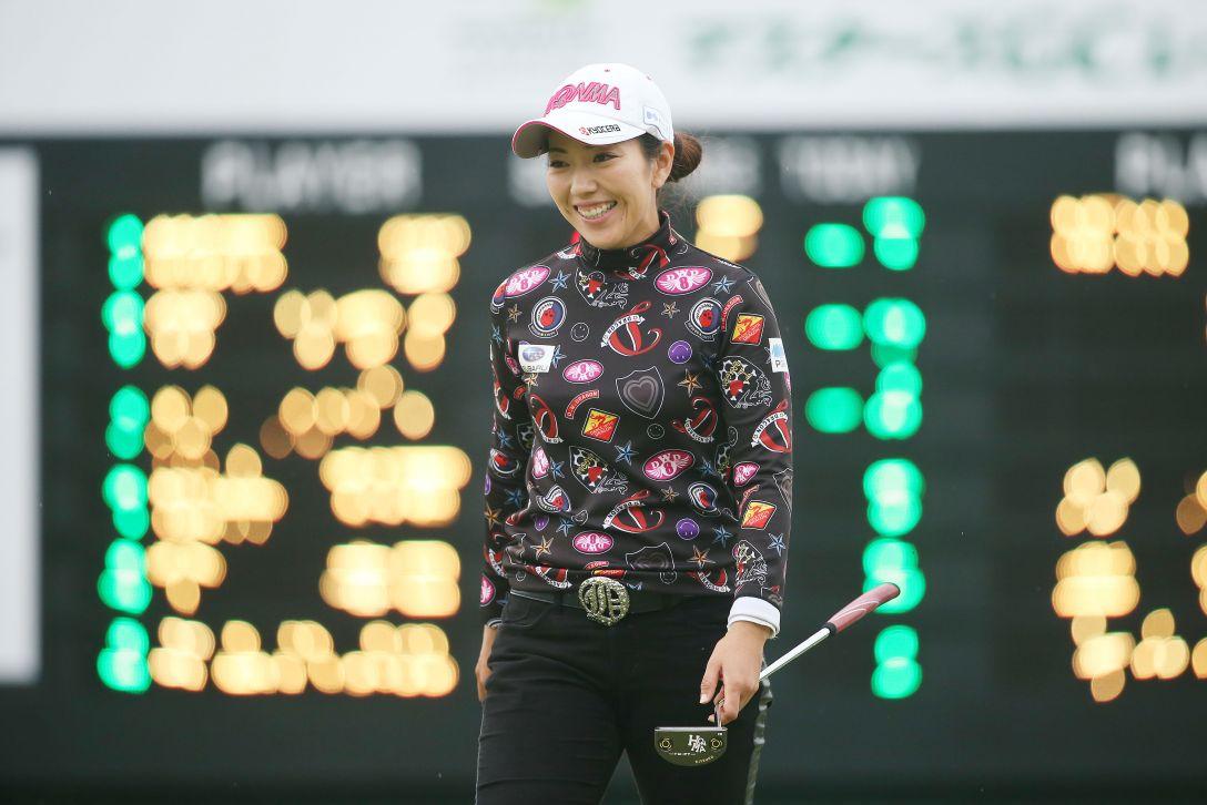 NOBUTA GROUP マスターズGCレディース 3日目 笠りつ子 <Photo:Atsushi Tomura/Getty Images>