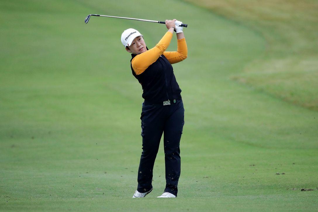樋口久子 三菱電機レディスゴルフトーナメント 1日目 申ジエ <Photo:Chung Sung-Jun/Getty Images>