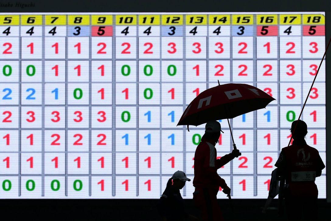 樋口久子 三菱電機レディスゴルフトーナメント 1日目 <Photo:Chung Sung-Jun/Getty Images>