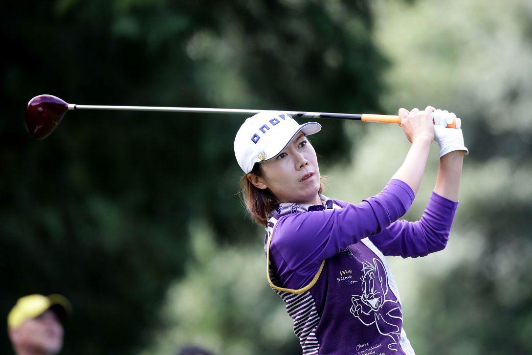 樋口久子 三菱電機レディスゴルフトーナメント 2日目 李知姫 <Photo:Chung Sung-Jun/Getty Images>