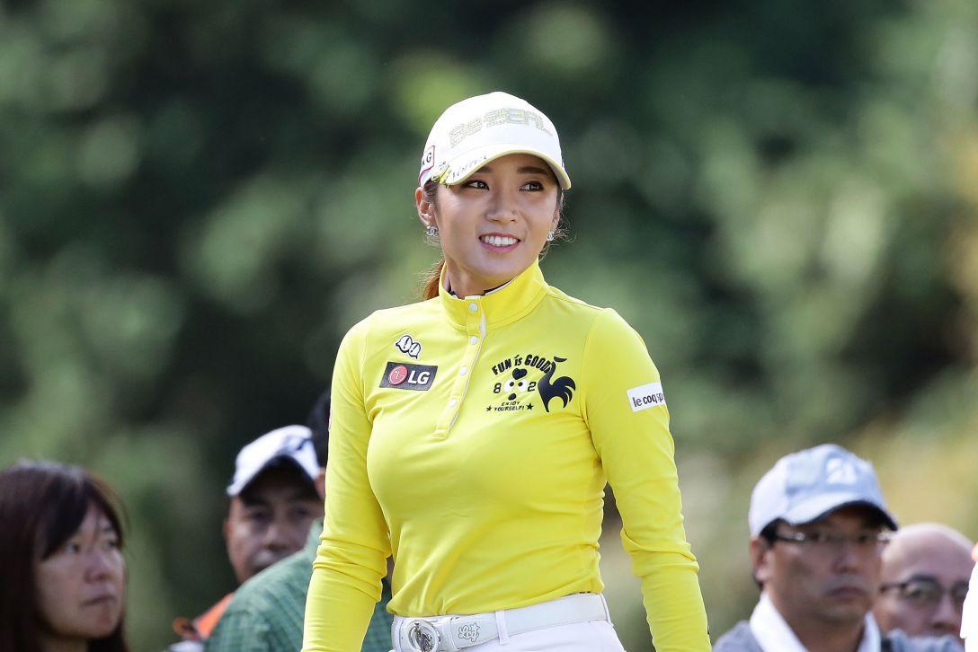 樋口久子 三菱電機レディスゴルフトーナメント 2日目 イボミ <Photo:Chung Sung-Jun/Getty Images>