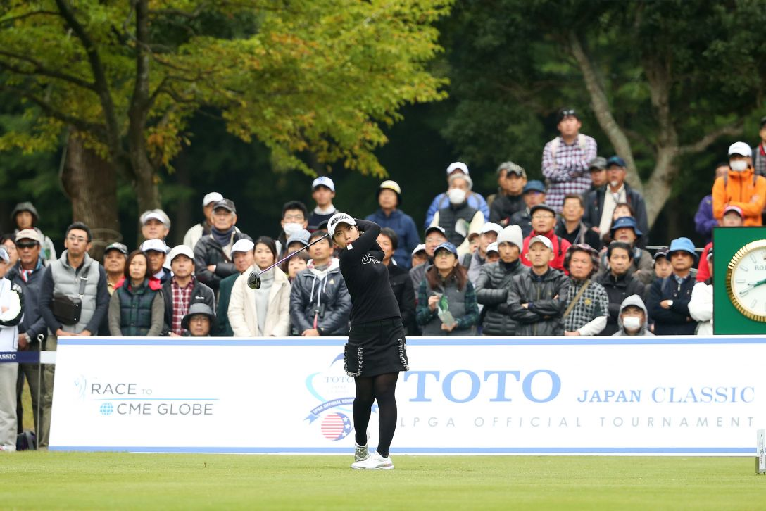 TOTOジャパンクラシック 2日目 笠りつ子 <Photo:Atsushi Tomura/Getty Images>