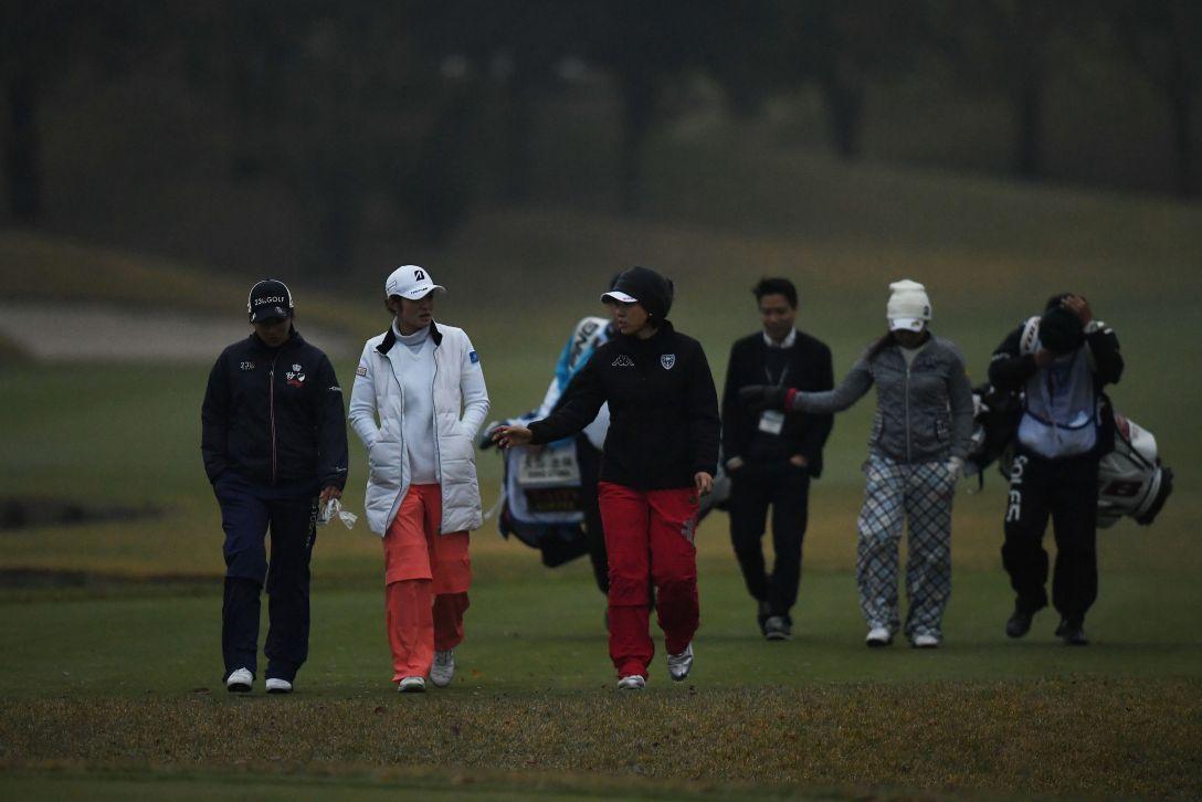 伊藤園レディスゴルフトーナメント 1日目 渡邉 彩香 <Photo:Atsushi Tomura/Getty Images>