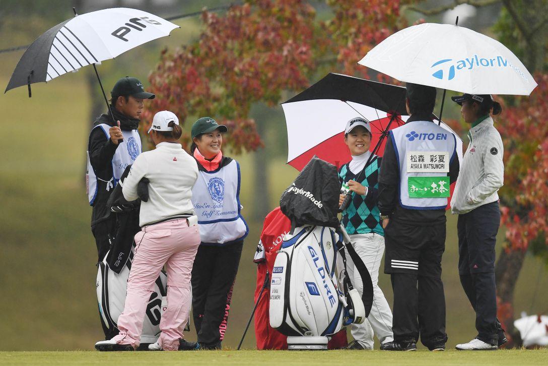 伊藤園レディスゴルフトーナメント 1日目 畑岡 奈紗 <Photo:Atsushi Tomura/Getty Images>