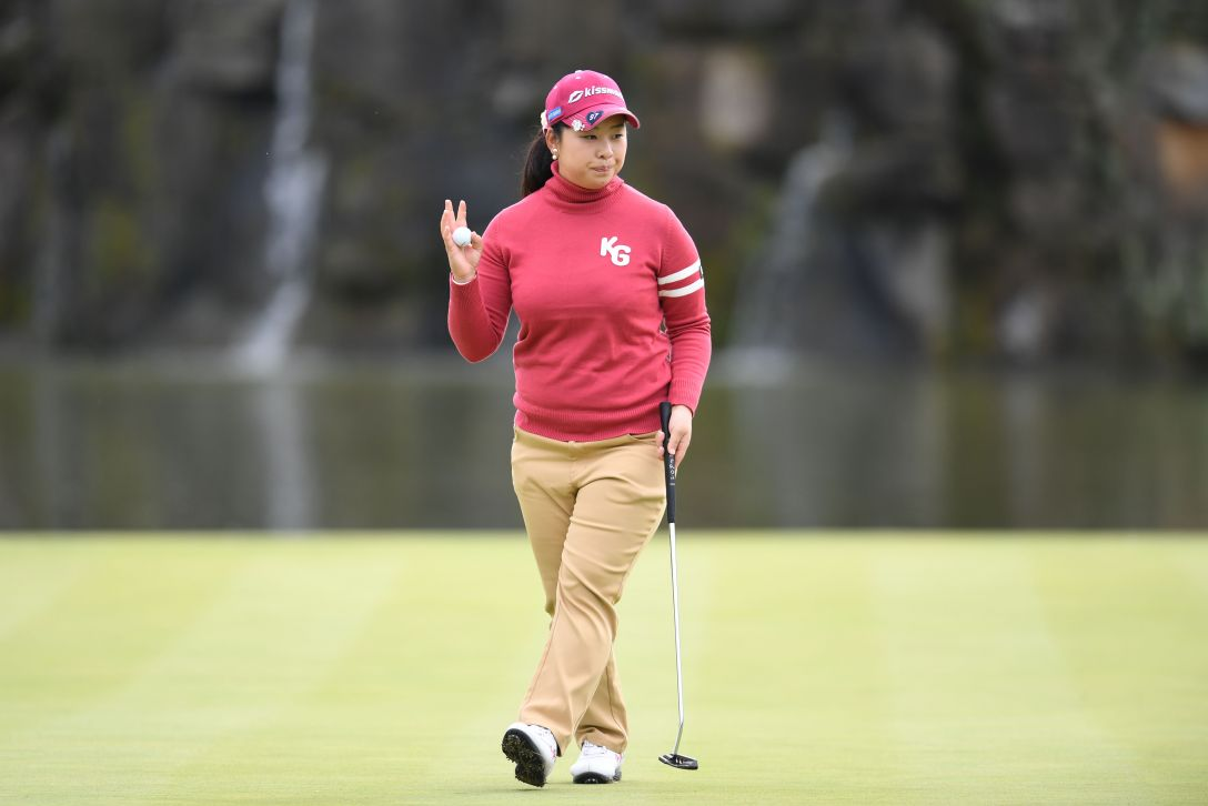 伊藤園レディスゴルフトーナメント 2日目 武尾 咲希 <Photo:Atsushi Tomura/Getty Images>