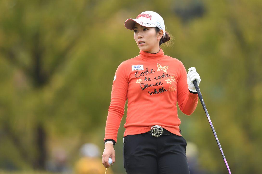 伊藤園レディスゴルフトーナメント 2日目 笠 りつ子 <Photo:Atsushi Tomura/Getty Images>