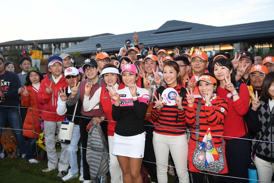 伊藤園レディスゴルフトーナメント 最終日 イ ボミ <Photo:Atsushi Tomura/Getty Images>