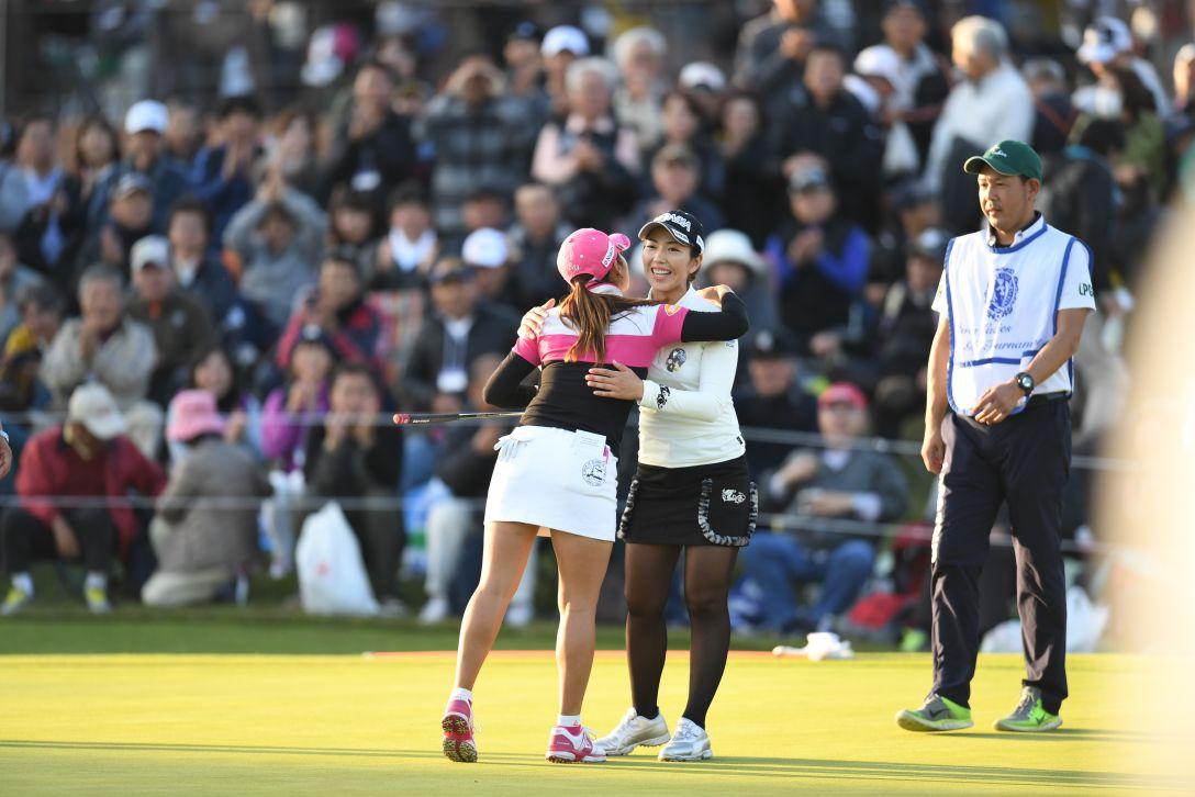 伊藤園レディスゴルフトーナメント 最終日 笠 りつ子 <Photo:Atsushi Tomura/Getty Images>