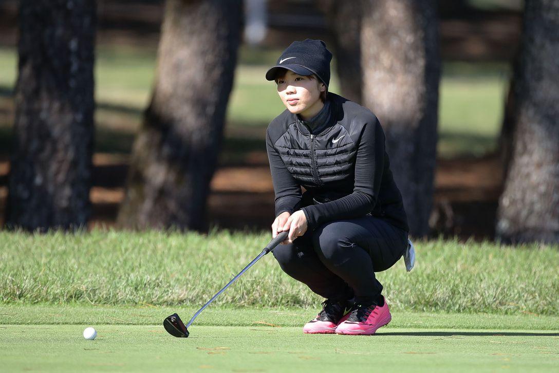 LPGAツアーチャンピオンシップリコーカップ 1日目 葭葉 ルミ <Photo:Chung Sung-Jun/Getty Images>
