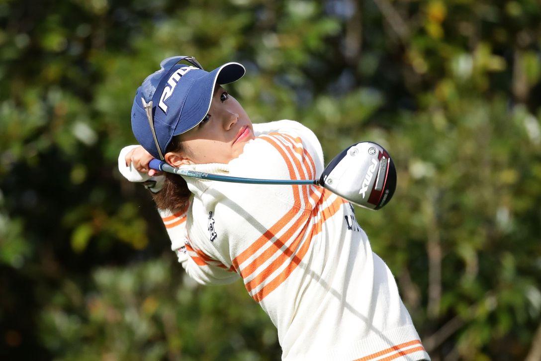 LPGAツアーチャンピオンシップリコーカップ 1日目 大江 香織 <Photo:Chung Sung-Jun/Getty Images>