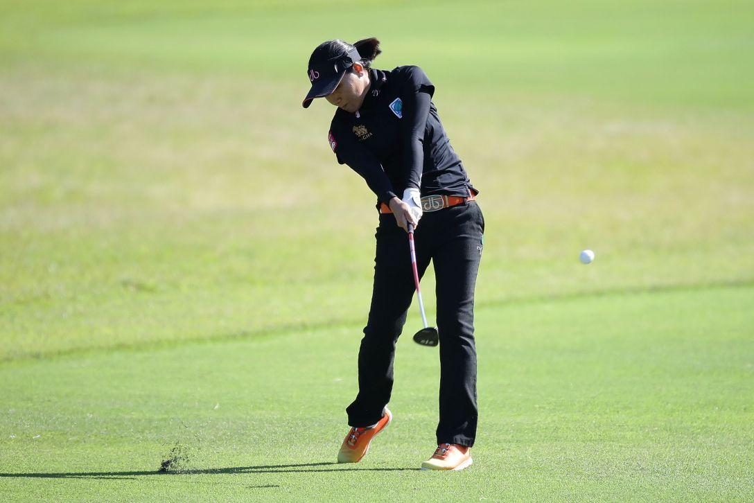 LPGAツアーチャンピオンシップリコーカップ 1日目 P.チュティチャイ <Photo:Chung Sung-Jun/Getty Images>