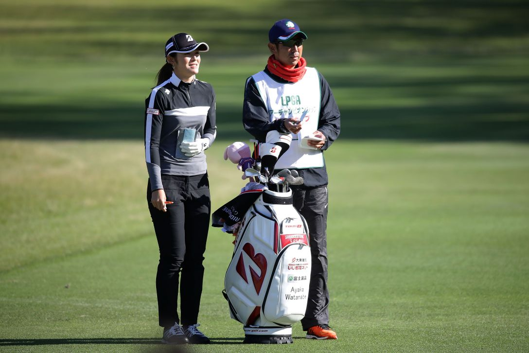 LPGAツアーチャンピオンシップリコーカップ 1日目 渡邉 彩香 <Photo:Chung Sung-Jun/Getty Images>