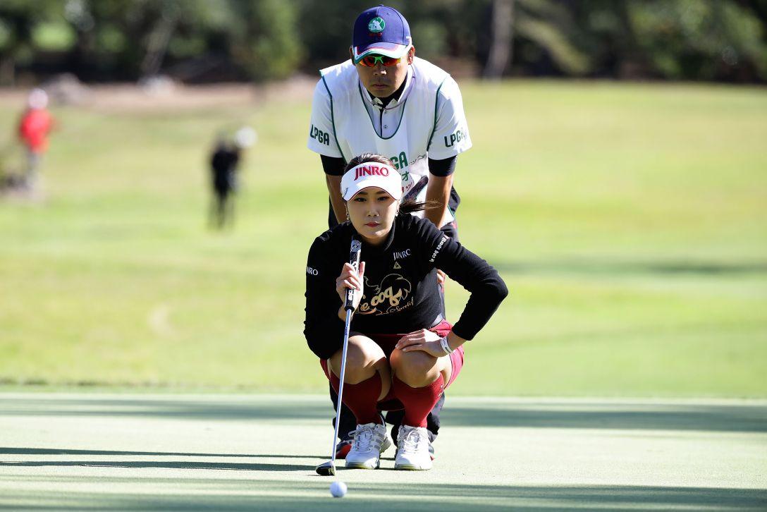 LPGAツアーチャンピオンシップリコーカップ 2日目 キム ハヌル <Photo:Chung Sung-Jun/Getty Images>