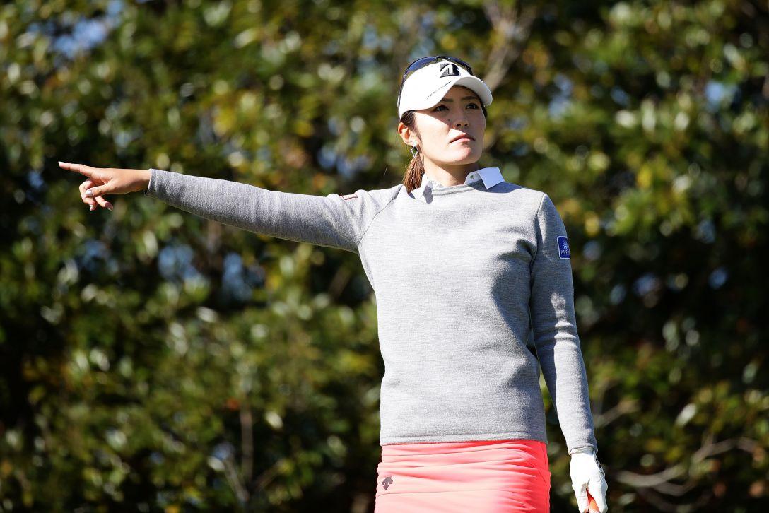 LPGAツアーチャンピオンシップリコーカップ 2日目 渡邉 彩香 <Photo:Chung Sung-Jun/Getty Images>