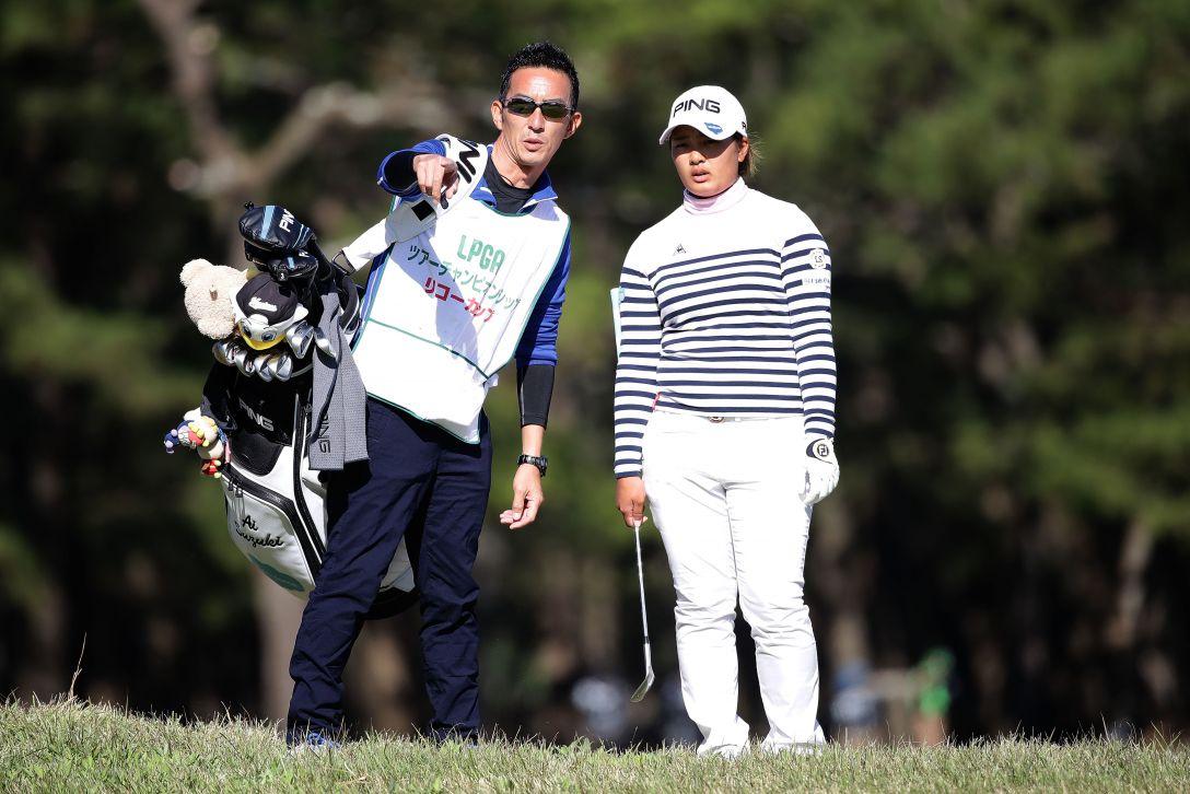 LPGAツアーチャンピオンシップリコーカップ 2日目 鈴木 愛 <Photo:Chung Sung-Jun/Getty Images>