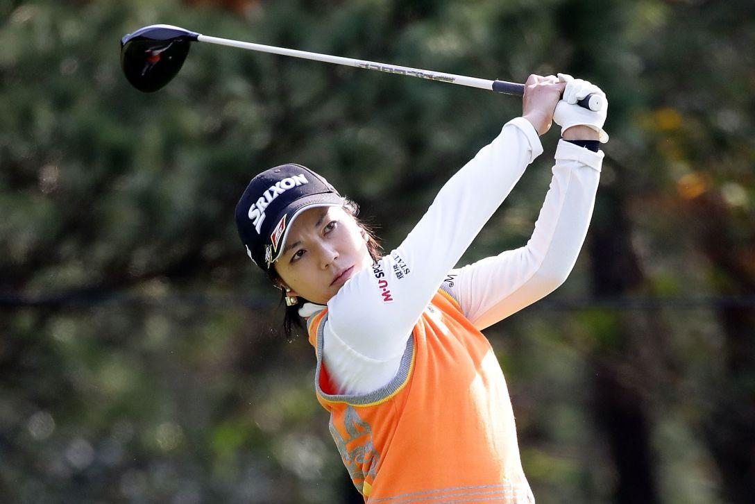 LPGAツアーチャンピオンシップリコーカップ 3日目 下川 めぐみ <Photo:Chung Sung-Jun/Getty Images>
