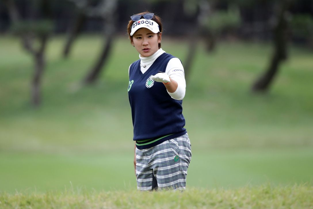LPGAツアーチャンピオンシップリコーカップ 3日目 成田 美寿々 <Photo:Chung Sung-Jun/Getty Images>