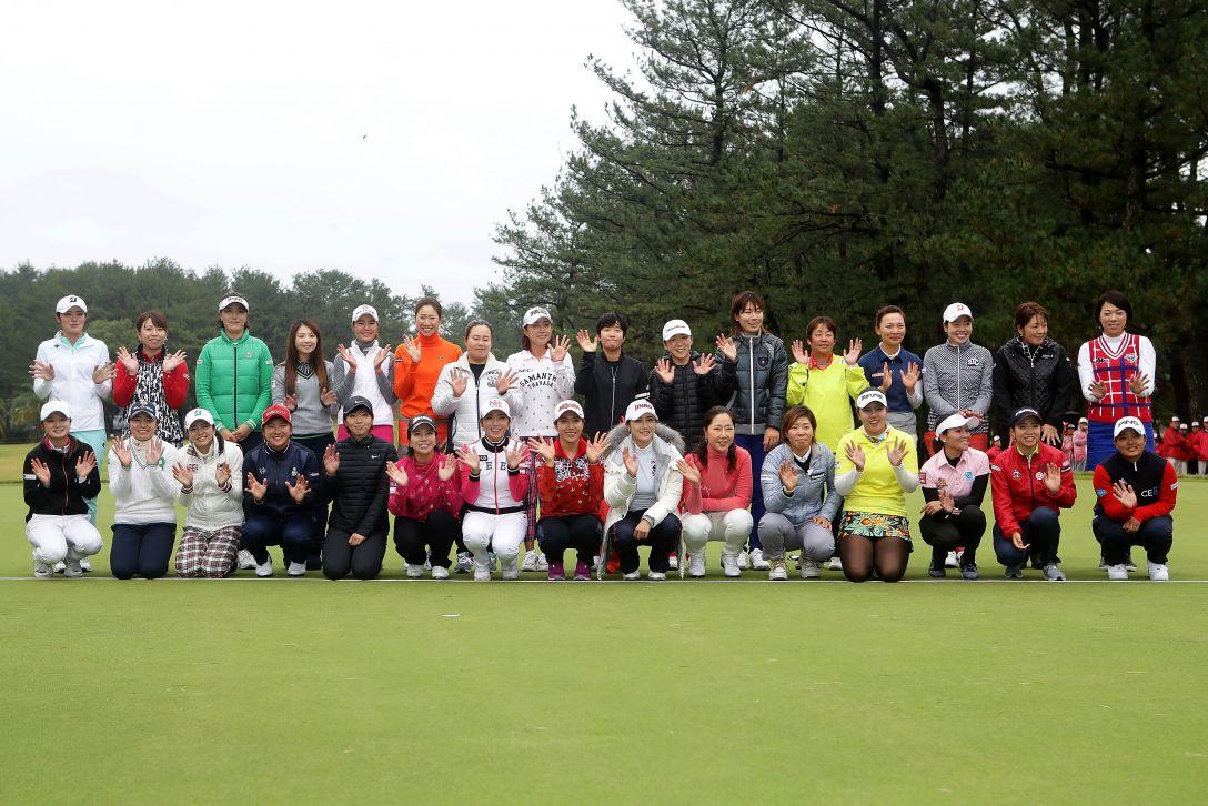 LPGAツアーチャンピオンシップリコーカップ 最終日 全出場選手 <Photo:Chung Sung-Jun/Getty Images>