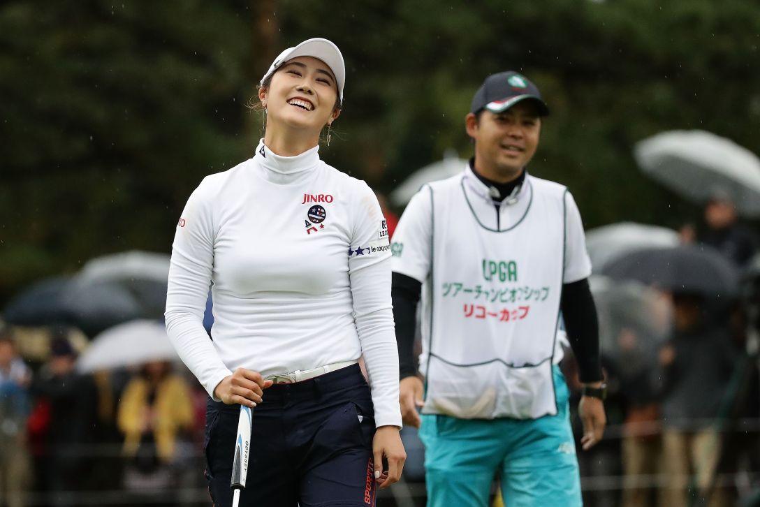 LPGAツアーチャンピオンシップリコーカップ 最終日 キム ハヌル <Photo:Chung Sung-Jun/Getty Images>