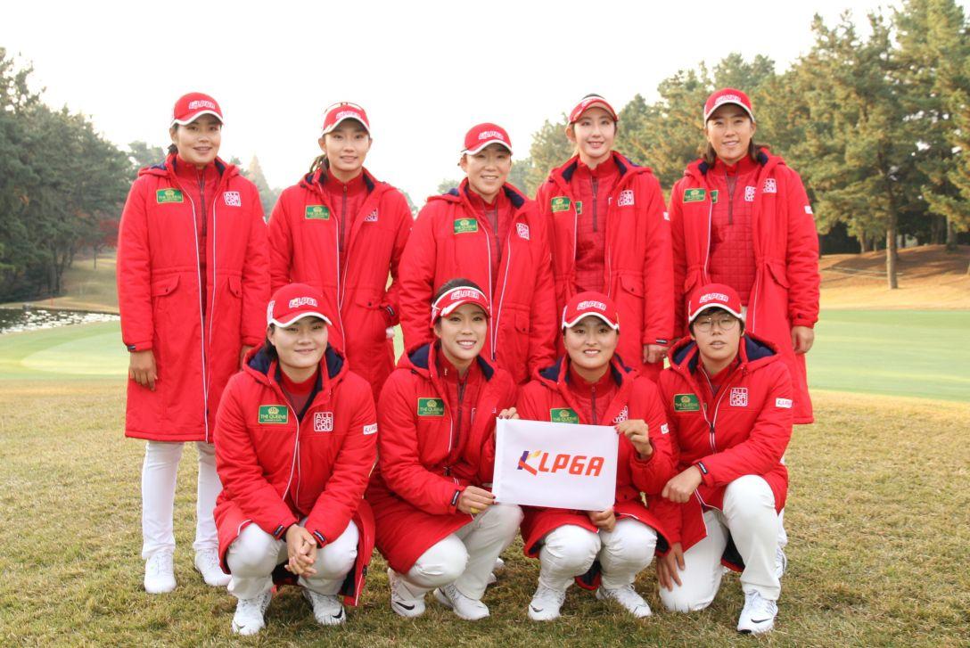 THE QUEENS 韓国女子プロゴルフ協会(KLPGA)チーム