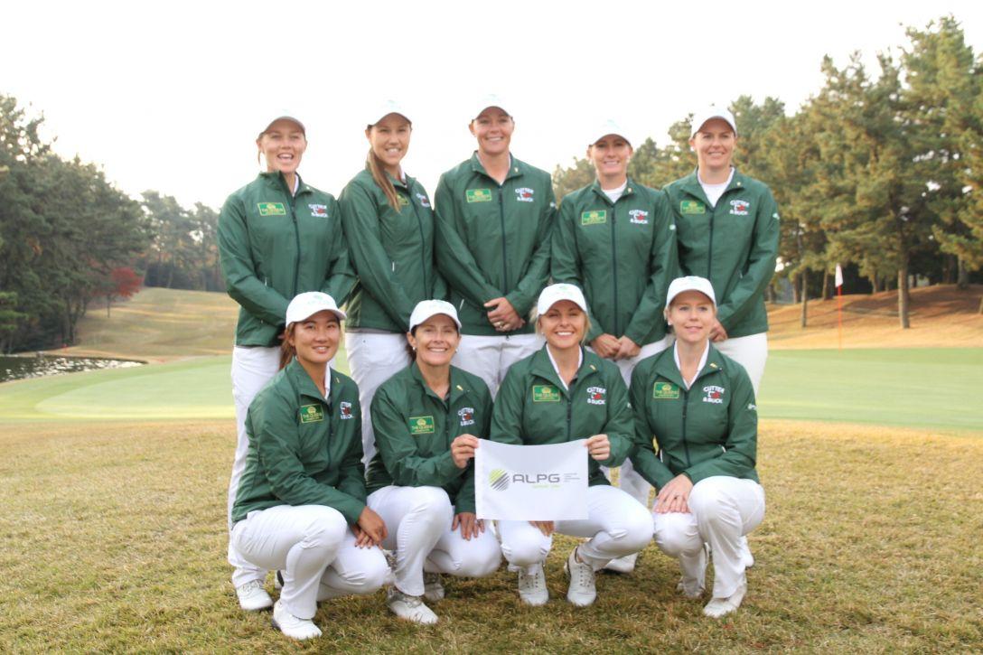 THE QUEENS オーストラリア女子プロゴルフ協会(ALPG)チーム