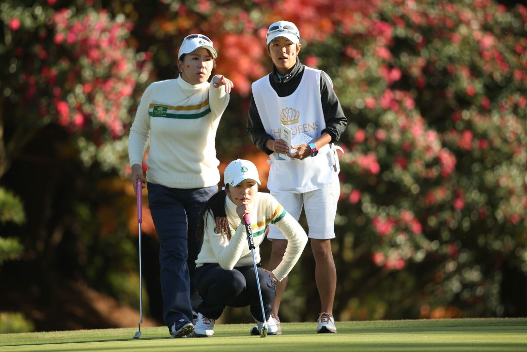 THE QUEENS 2日目 吉田弓美子、堀琴音 <Photo:Atsushi Tomura/Getty Images>
