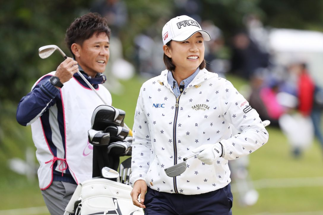 ダイキンオーキッドレディスゴルフトーナメント 2日目 原江里菜 <Photo:Atsushi Tomura/Getty Images>