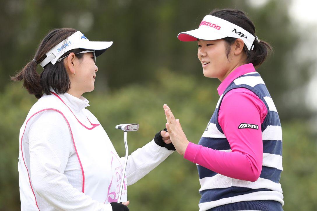 ダイキンオーキッドレディスゴルフトーナメント 2日目 川岸 史果 <Photo:Atsushi Tomura/Getty Images>