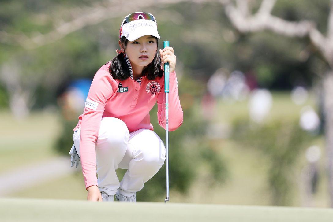 ダイキンオーキッドレディスゴルフトーナメント 3日目 セキ ユウティン <Photo:Atsushi Tomura/Getty Images>