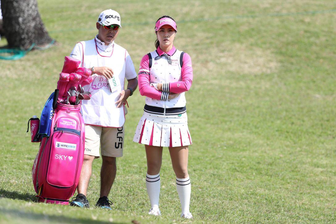 ダイキンオーキッドレディスゴルフトーナメント 3日目 キム ハヌル <Photo:Atsushi Tomura/Getty Images>