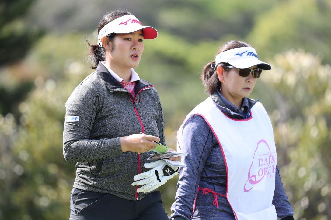 ダイキンオーキッドレディスゴルフトーナメント 最終日 川岸 史果 <Photo:Atsushi Tomura/Getty Images>
