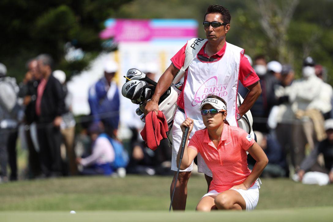 ダイキンオーキッドレディスゴルフトーナメント 最終日 藤本 麻子 <Photo:Atsushi Tomura/Getty Images>