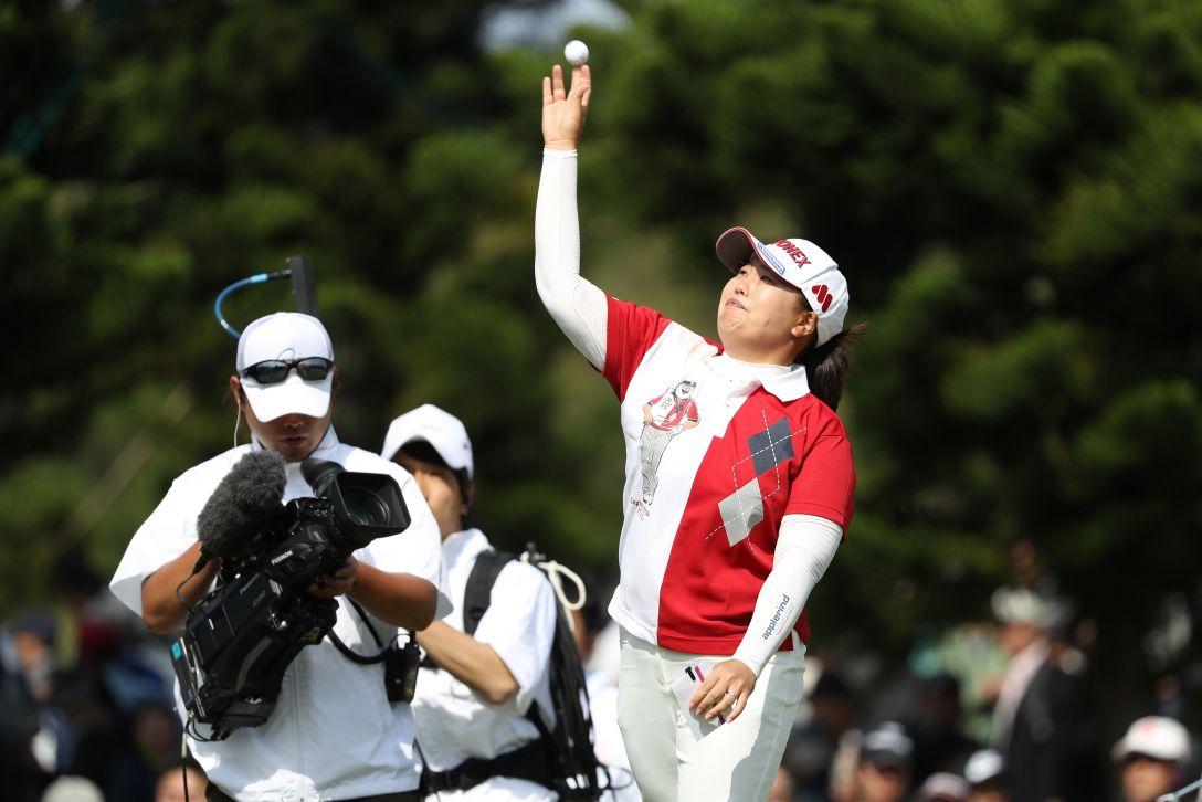ダイキンオーキッドレディスゴルフトーナメント 最終日 アン ソンジュ <Photo:Atsushi Tomura/Getty Images>