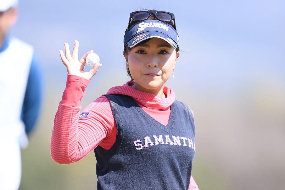 ヨコハマタイヤゴルフトーナメント PRGRレディスカップ 1日目 青木瀬令奈 <Photo:Atsushi Tomura/Getty Images>