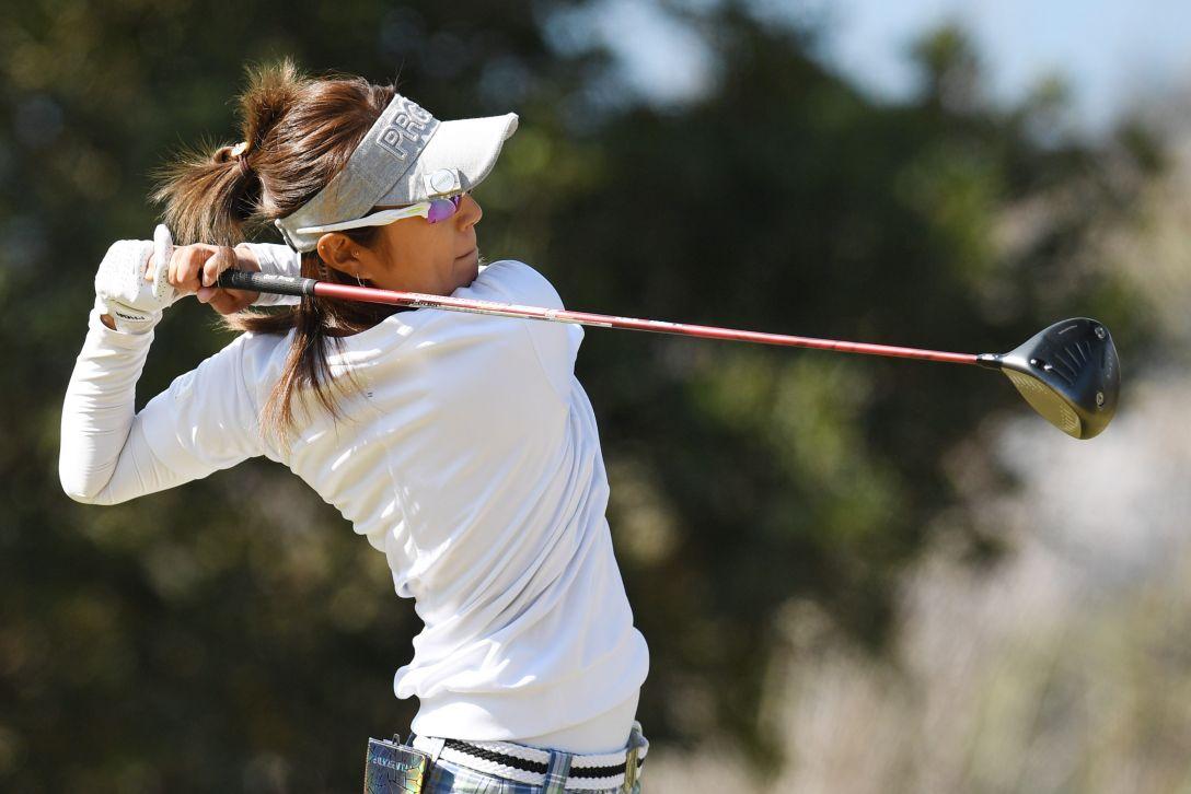 ヨコハマタイヤゴルフトーナメント PRGRレディスカップ 1日目 藤本麻子 <Photo:Atsushi Tomura/Getty Images>