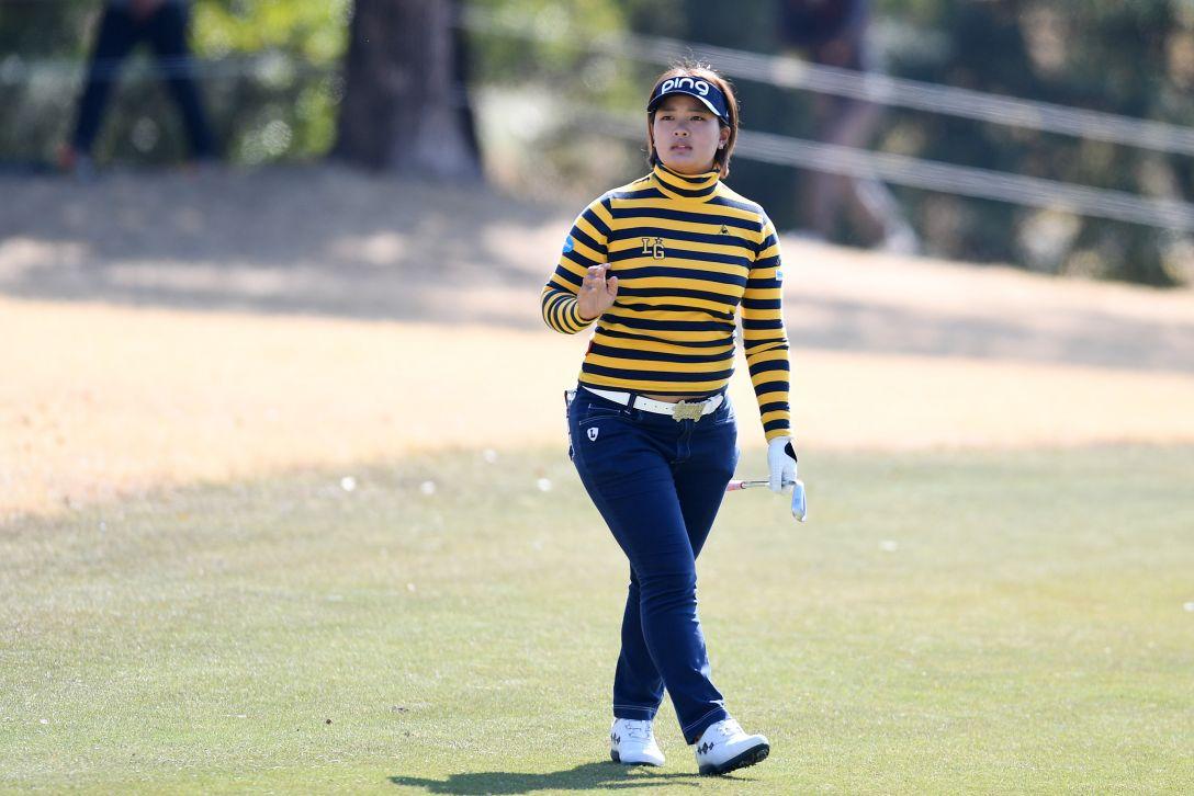 ヨコハマタイヤゴルフトーナメント PRGRレディスカップ 1日目 鈴木愛 <Photo:Atsushi Tomura/Getty Images>