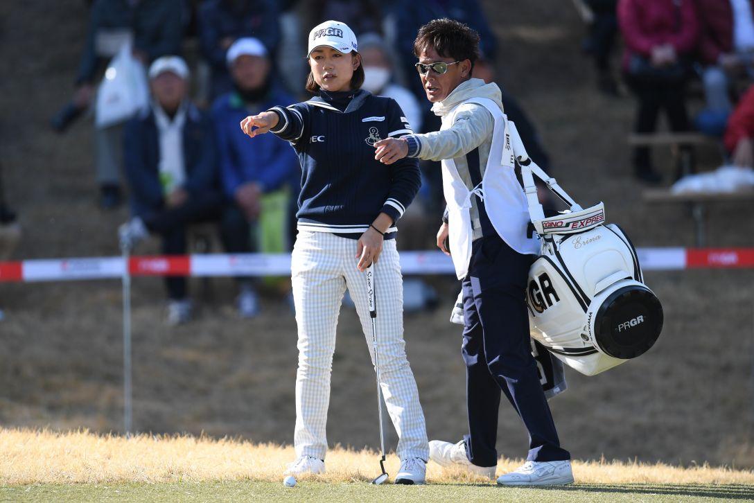 ヨコハマタイヤゴルフトーナメント PRGRレディスカップ 1日目 原江里菜 <Photo:Atsushi Tomura/Getty Images>