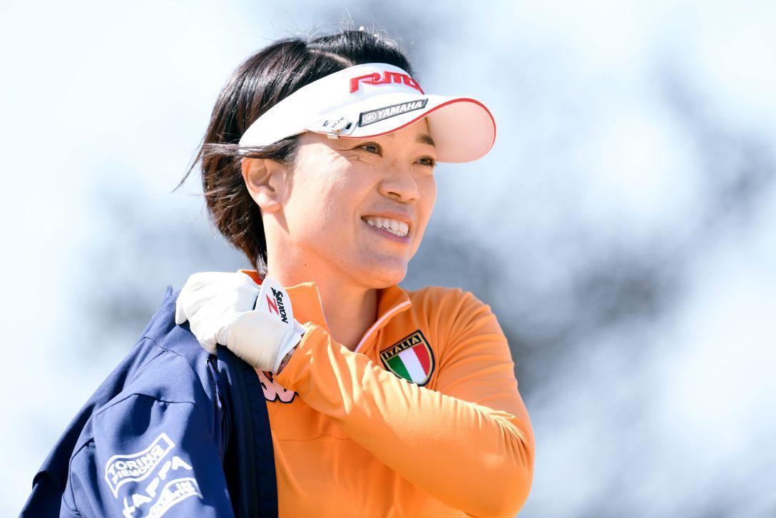 ヨコハマタイヤゴルフトーナメント PRGRレディスカップ 2日目 大山 志保 <Photo:Atsushi Tomura/Getty Images>