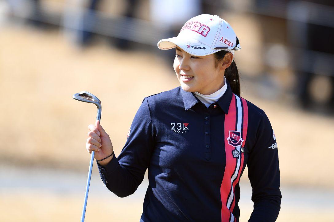 ヨコハマタイヤゴルフトーナメント PRGRレディスカップ 1日目 辻梨恵 <Photo:Atsushi Tomura/Getty Images>