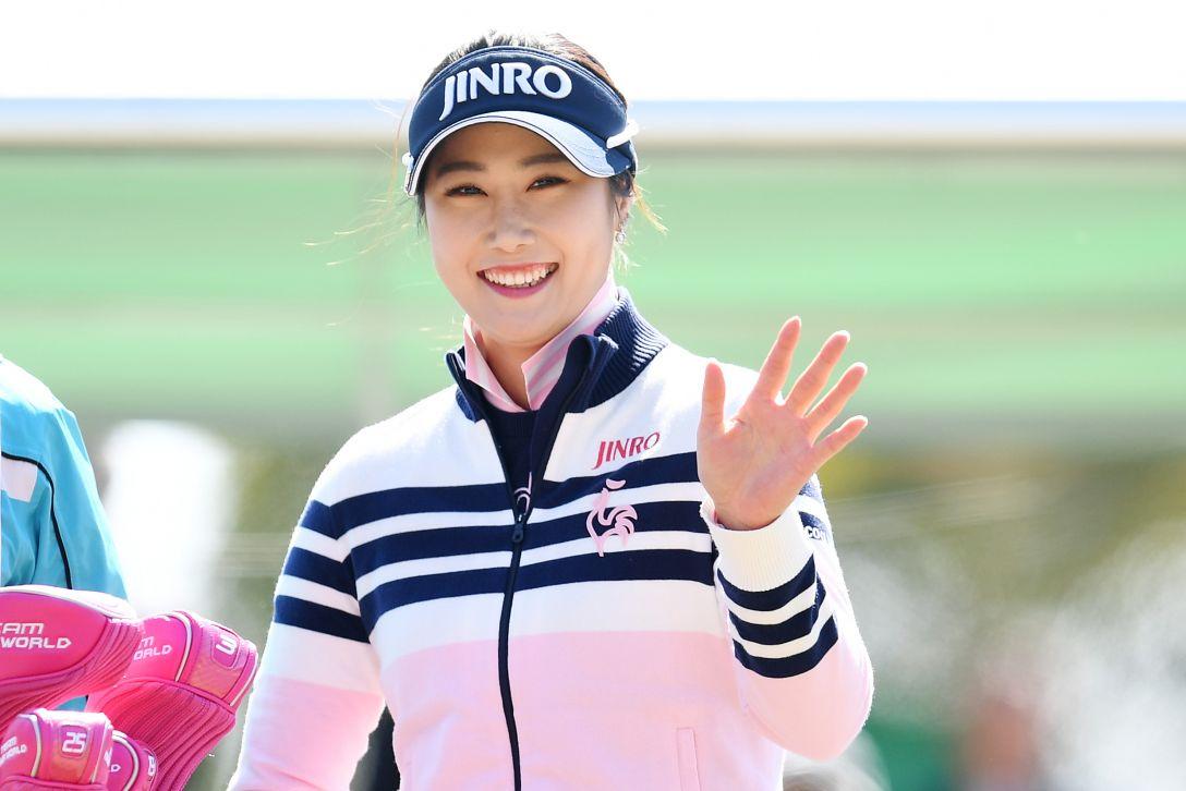 ヨコハマタイヤゴルフトーナメント PRGRレディスカップ 2日目 キム ハヌル <Photo:Atsushi Tomura/Getty Images>