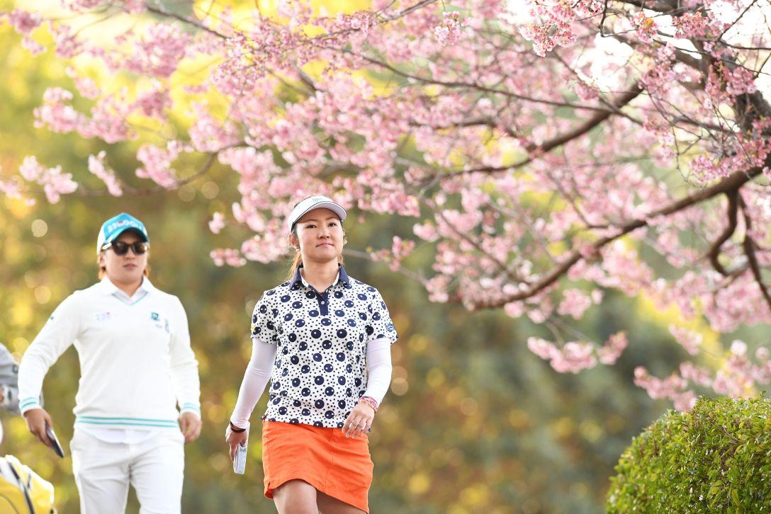 ヨコハマタイヤゴルフトーナメント PRGRレディスカップ 2日目 小林 咲里奈 <Photo:Atsushi Tomura/Getty Images>