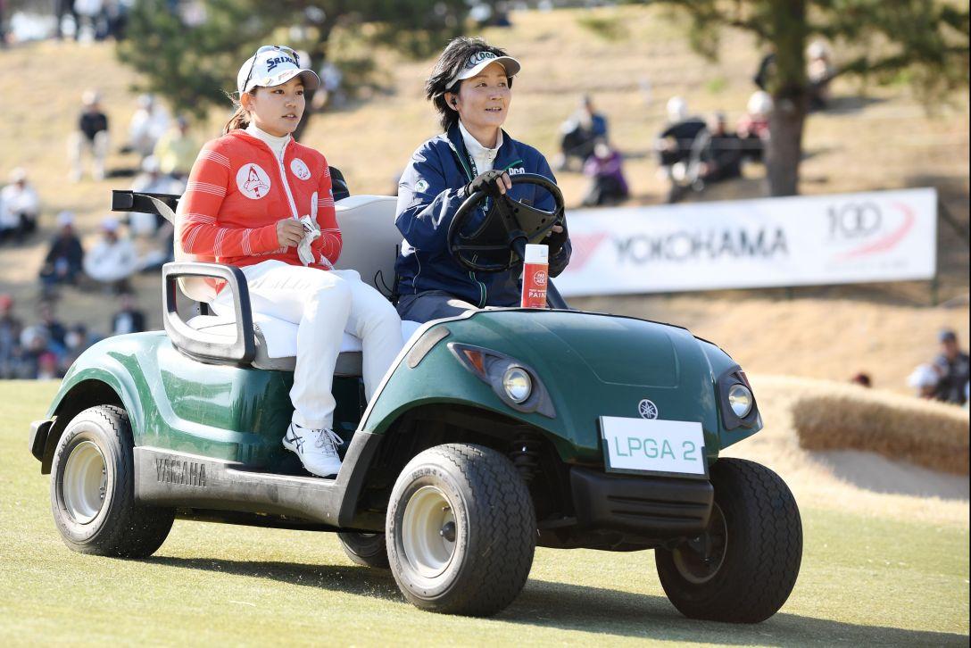 ヨコハマタイヤゴルフトーナメント PRGRレディスカップ 最終日 藤崎 莉歩 <Photo:Atsushi Tomura/Getty Images>