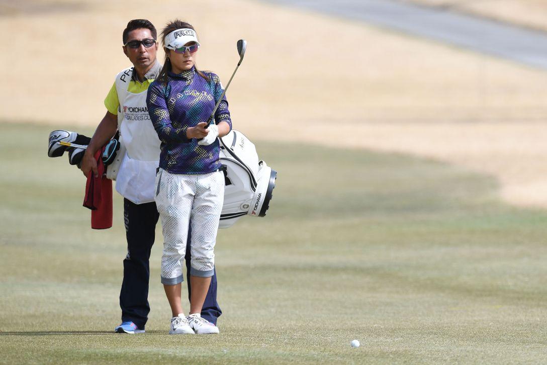 ヨコハマタイヤゴルフトーナメント PRGRレディスカップ 最終日 藤本 麻子 <Photo:Atsushi Tomura/Getty Images>