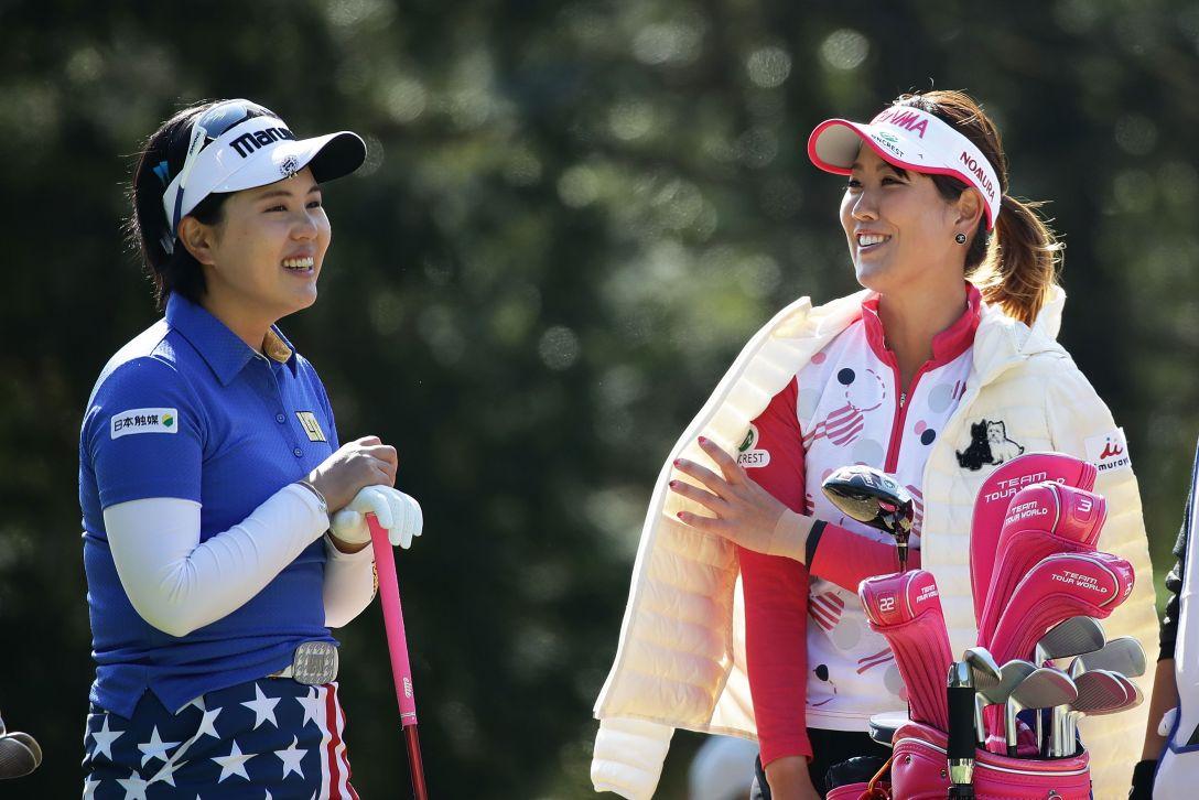 Tポイントレディス ゴルフトーナメント 1日目 福田真未 <Photo:Chung Sung-Jun/Getty Images>