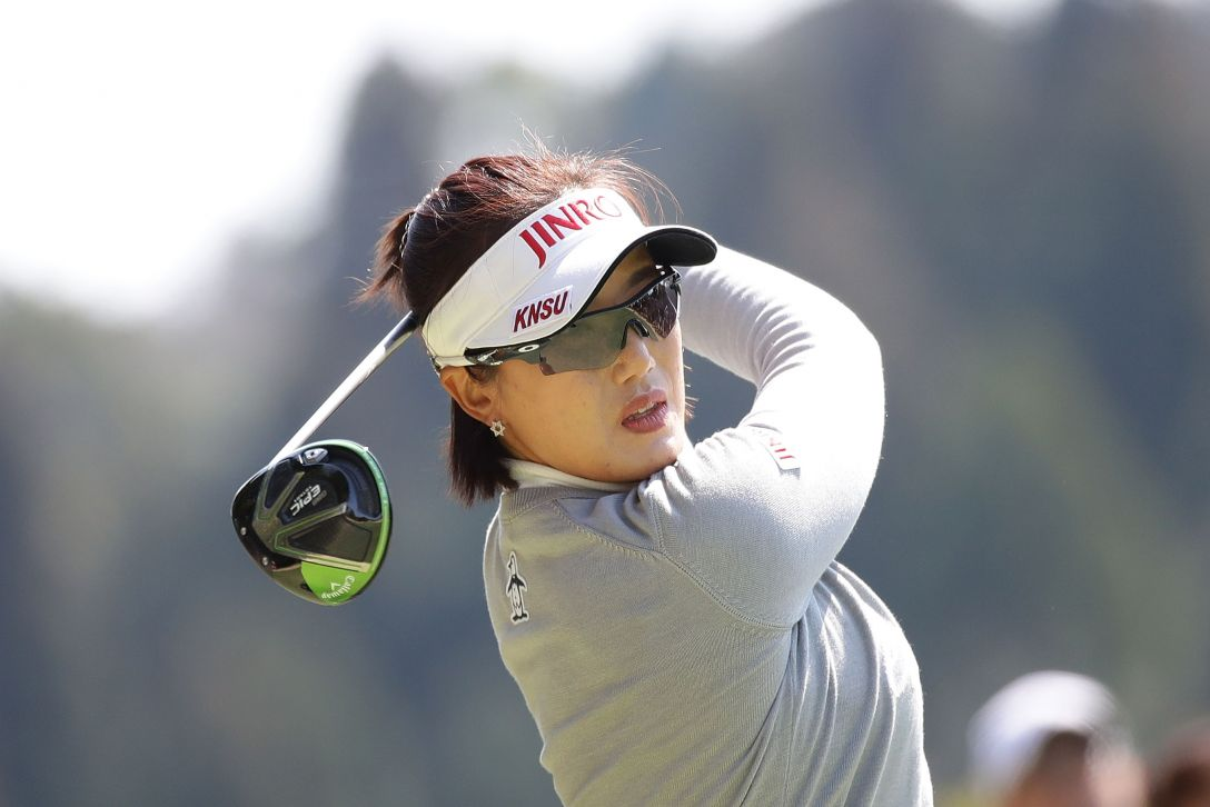 Tポイントレディス ゴルフトーナメント 1日目 全美貞 <Photo:Chung Sung-Jun/Getty Images>