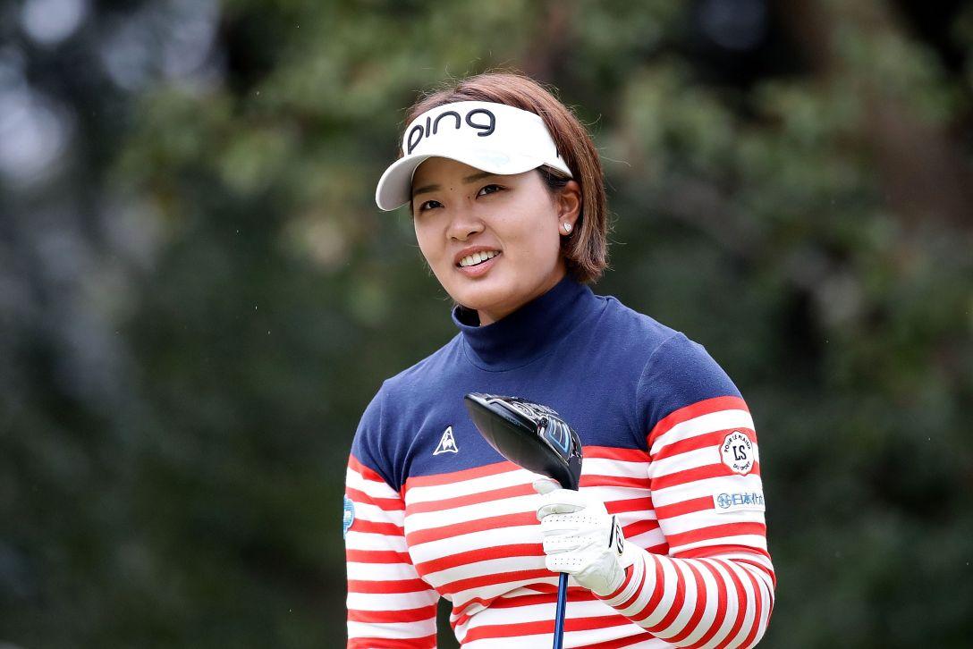 Tポイントレディス ゴルフトーナメント 2日目 鈴木愛 <Photo:Chung Sung-Jun/Getty Images>