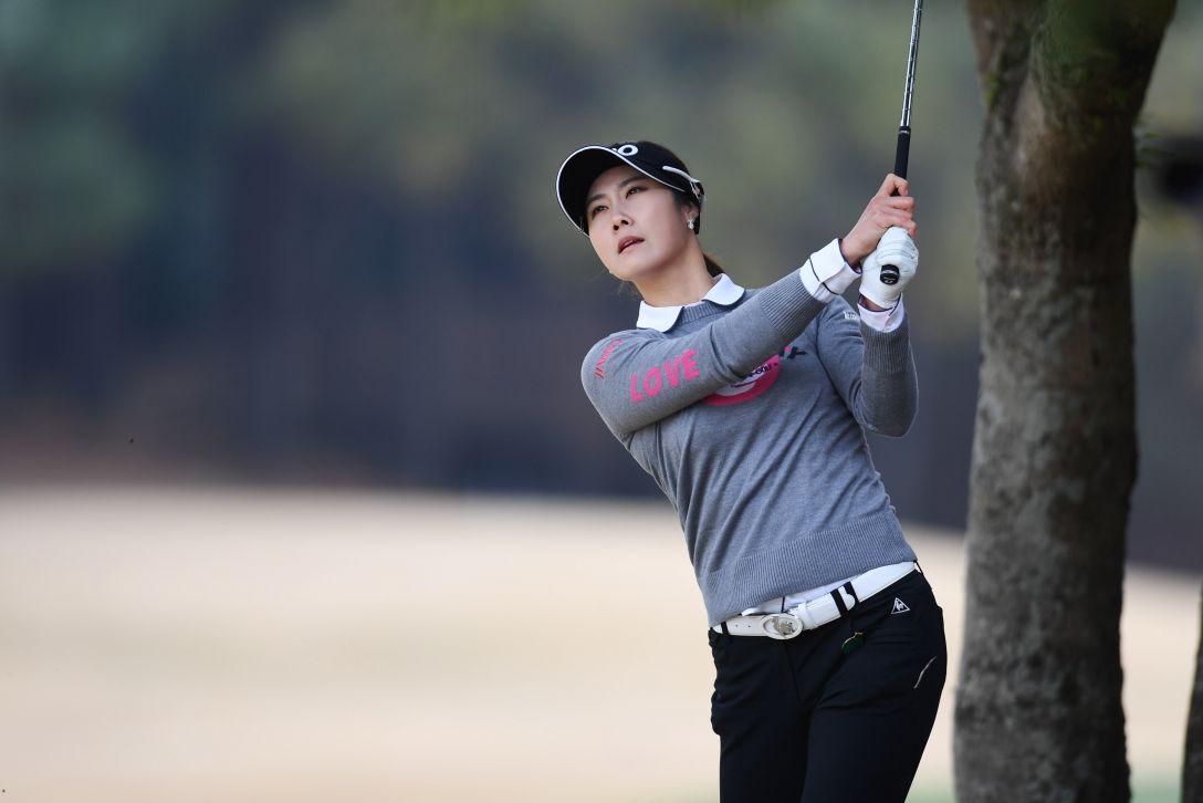 アクサレディスゴルフトーナメント in MIYAZAKI 1日目 キムハヌル <Photo:Atsushi Tomura/Getty Images>