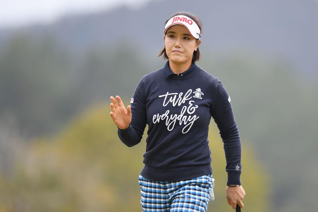 アクサレディスゴルフトーナメント in MIYAZAKI 1日目 全美貞 <Photo:Atsushi Tomura/Getty Images>