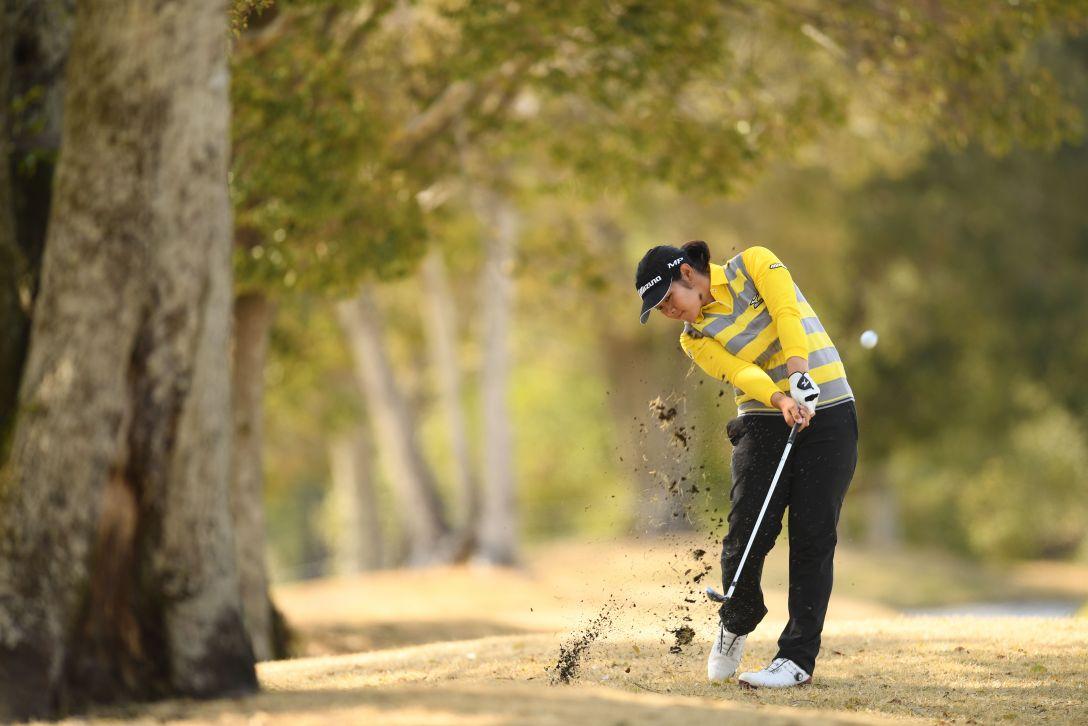 アクサレディスゴルフトーナメント in MIYAZAKI 最終日 川岸史果 <Photo:Atsushi Tomura/Getty Images>