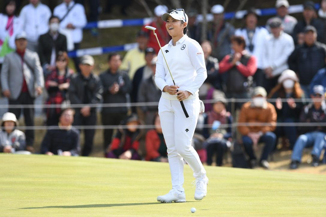 アクサレディスゴルフトーナメント in MIYAZAKI 最終日 柏原 明日架 <Photo:Atsushi Tomura/Getty Images>